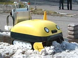 Yuki-taro Japanese snowplough - WITH FACE