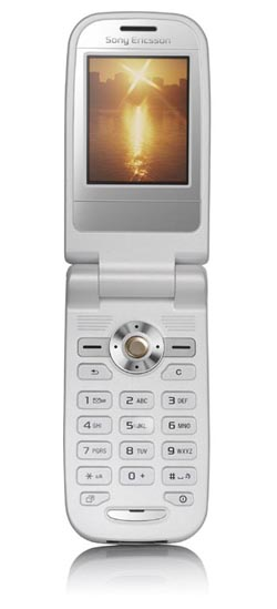 Sony Ericsson Z550 - IN THE NOW!