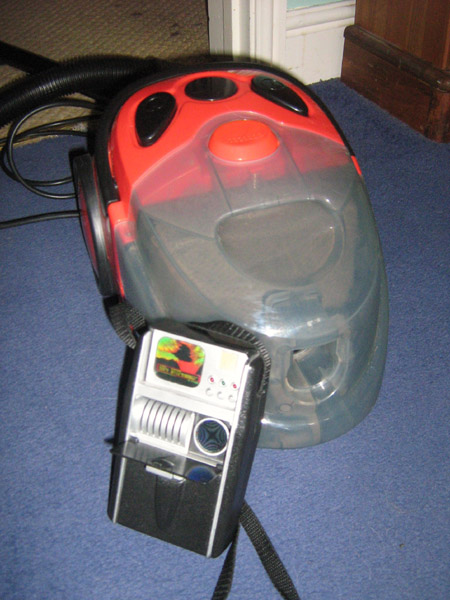 Woolworths Worth It Vacuum - with face