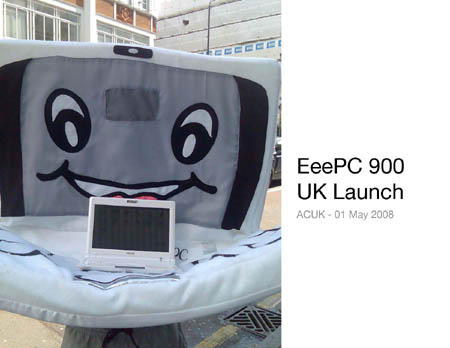 Eee PC 900 launch day HUMILIATION