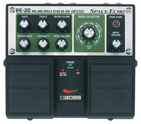 Roland RE-20, face in the middle