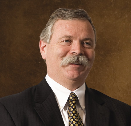 Charles W. Fischer of Nova Chemicals, Executive Moustache Winner, Week #1