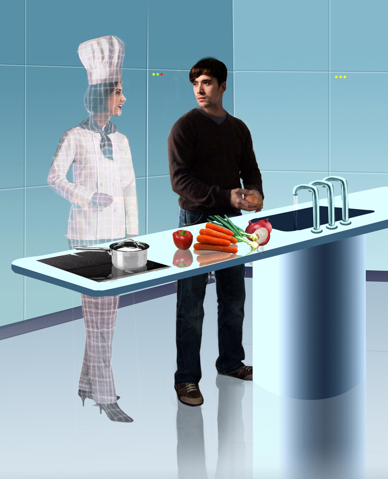 IDIOT TOYS: Tech news for the bored: The kitchen... OF THE FUTURE