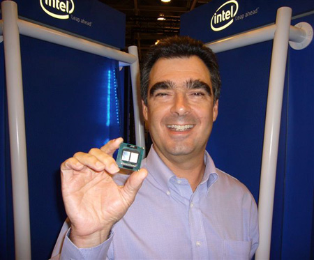 Intel's Stephen Smith, vice president and director of business operations for the Digital Enterprise Group